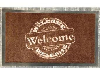 ILIAS - paillasson welcome welcome marron - Paillasson
