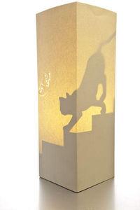 W-LAMP - the cat - Lampe À Poser