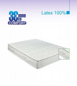 ECO CONFORT - matelas eco-confort 100% latex 7 zones 90 * 200 - Matelas En Latex