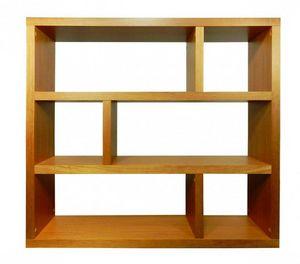 TemaHome - dublin 6 casiers bibliothèque étagère mukali verni - Bibliothèque
