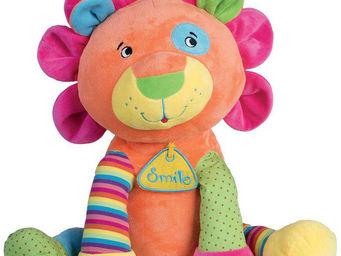 WDK Groupe Partner - peluche lion multicolore - Peluche