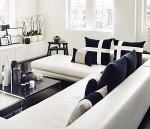 Kelly Hoppen - brompton cross - Coussin Carr�
