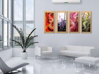 Artwall and CO - toile peinture violons - Huile Sur Toile Et Huile Sur Panneau