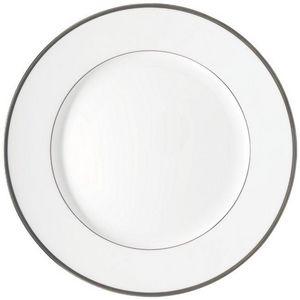 Raynaud - fontainebleau platine (filet marli) - Assiette De Présentation