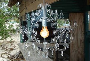 Claire de Lune Chandelier -  - Suspension