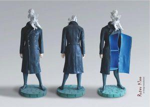 ROTERKLEE -  - Statuette