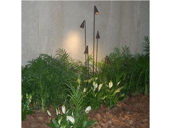 VIBIA - lampe extérieure brisa 5 bras - Lampe De Jardin À Led