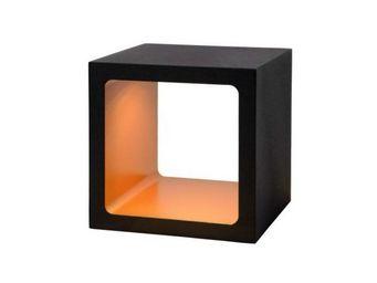 LUCIDE - lampe de table xio led noir 10 cm - Lampe À Poser