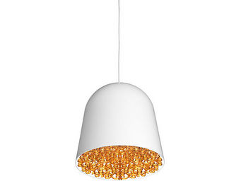 FLOS - can can - suspension blanc/ambre ø35cm | suspensio - Suspension