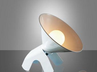 LUMIVEN - snoopy - lampe blanc | lampe à poser lumiven desig - Lampe À Poser