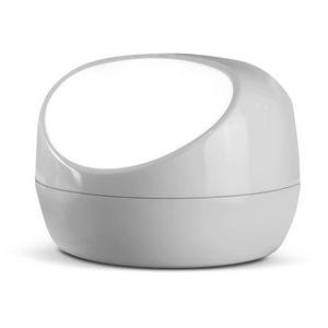 VIVIDA - stonelamp - lampe gris clair | lampe à poser vivid - Lampe À Poser