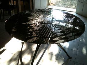 Jean Hubert Niffac - black & white - Table De Repas Haute