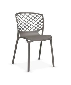 Calligaris - chaise empilable gamera de calligaris grège opaque - Chaise