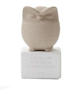 SOPHIA - owl medium - Sculpture Animalière
