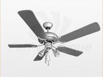 LBA HOME - ventilateur de plafond 132 cm, 3 spots puissants, - Ventilateur De Plafond