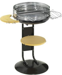 Dalper - barbecue � charbon rond original new garden - Barbecue Au Charbon
