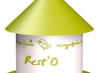 ZOLUX - mangeoire color�e rest'o anis - Mangeoire � Oiseaux