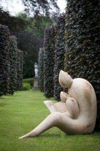 ROBERT ARNOUX - la lecture - Sculpture