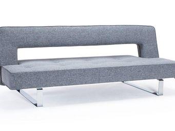 INNOVATION - canapé lit design puzzle luxe gris twist charcoal - Banquette Clic Clac