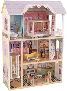 KidKraft - maison de poupée en bois kaylee - Maison De Poupée