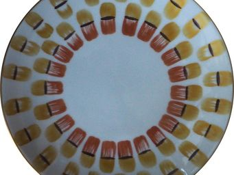 Marie Daage - ronde de maille - Assiette Plate