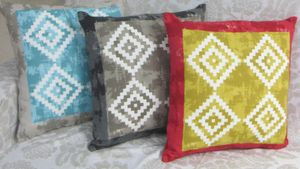ITI  - Indian Textile Innovation - batik - Housse De Coussin
