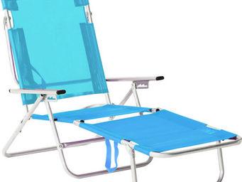 HEVEA - bain de soleil de plage avec poignée de transport - Fauteuil De Jardin