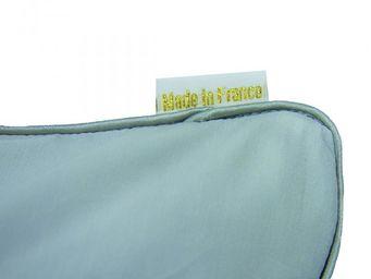 BAILET - coussin déco graphique - 50x50 cm - vert d'eau & - Coussin Carré