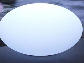 WILSA GARDEN - galet lumineux étanche 35cm - Lampe De Jardin