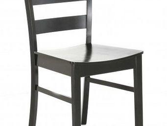 ID'CLIK - chaise repas en bois rico - Chaise