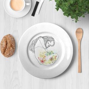 la Magie dans l'Image - assiette douceur de printemps - Assiette De Présentation