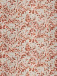 FABRICUT - arbe toile sienna - Tissu D'ameublement