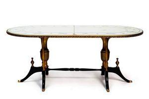 RELOADED DESIGN - zodiac - unique piece - Table De Repas Ovale