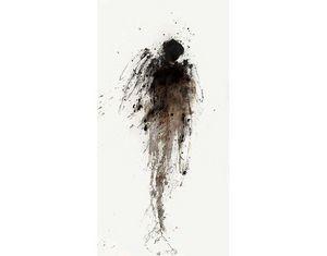 HANNA SIDOROWICZ - ange noir - Tableau Contemporain