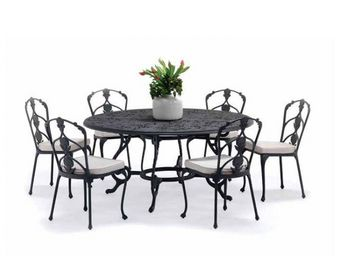 Oxley's - barrington-- - Table De Jardin Ronde