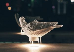 HAOSHI DESIGN - dove x light - Lampe À Poser