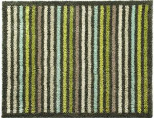 HUG RUG - tapis en fibres naturelles à rayures 65x85 cm - Paillasson