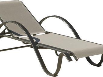 HEVEA - transat de bain design aluminium horizon - Chaise Longue