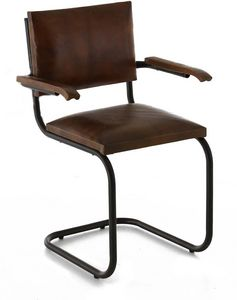 ZAGO - chaise avec accoudoirs montecristo - Chaise