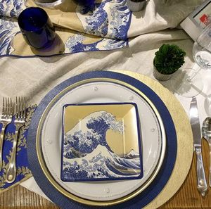 CASPARI - great wave  - Assiette En Carton