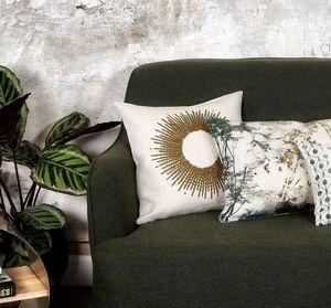 BIANKA LEONE - soleil bronze - Coussin Carré