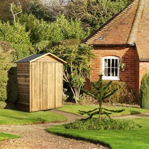 CEMONJARDIN - abri de rangement en bois eva 1,12 m² - Abri De Jardin Bois