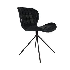 ZUIVER - chaise omg aspect cuir zuiver - Chaise Pivotante