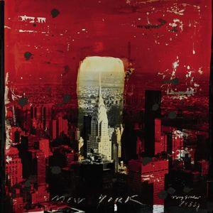 Nouvelles Images - affiche chryler building new york 2004 - Affiche