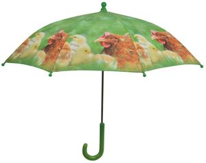 KIDS IN THE GARDEN - parapluie enfant la ferme poulet - Parapluie