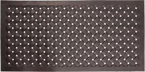 BEST FOR BOOTS - paillasson en caoutchouc tressé 60x120 cm - Paillasson