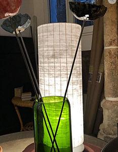 LA VILLA HORTUS - papier japonais - Lampe À Poser