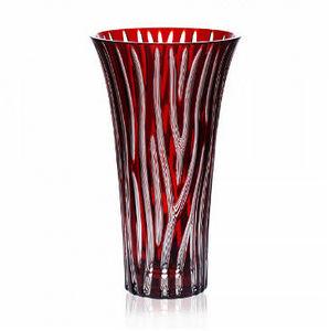 CRISTALLERIE DE MONTBRONN - zebra - Vase À Fleurs