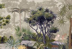 Ananbô - voyage botanique couleur - Papier Peint Panoramique