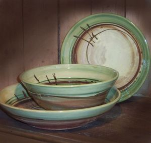 Atelier Poterie Pacia - pièces uniques artisanales - Saladier